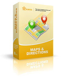 Maps & Directions Expression Web add-in
